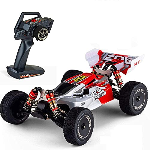 N&G Daily Equipment 60km/h Fast Remote Control Racing 4WD All-Terrain RC Vehicle Bigfoot Monster Climbing RC Truck 2.4G Charging Alloy RC Car Adult Entry-Level RC Toy