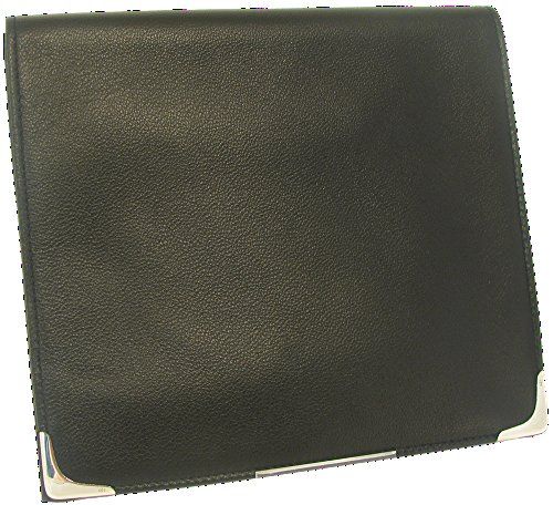 Martin Wess Silverline Metis Nappa Leather Large Roll Up Tobacco Pouch with 925 Sterling