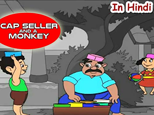 Cap seller and a monkey ( In Hindi …