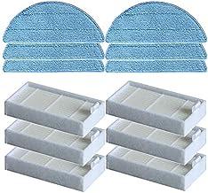 DIY Cleaner Fitting Vacuum Cleaner Side Brushes Filters HEPA Filter fit for CHUWI V3 iLife X5 V5 V50 V3+ V5PRO Mop Cloth R...