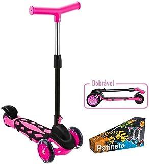 Patinete Radical Power Pink, DM Toys, Dobrável