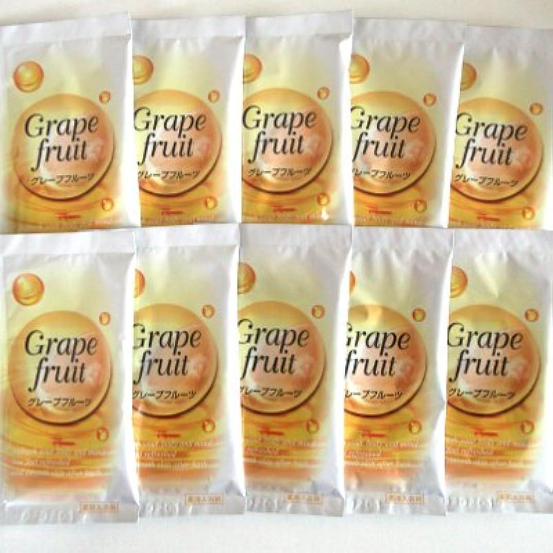 治す処方する粒子トプラン入浴剤 グレープフルーツの香り 10包セット