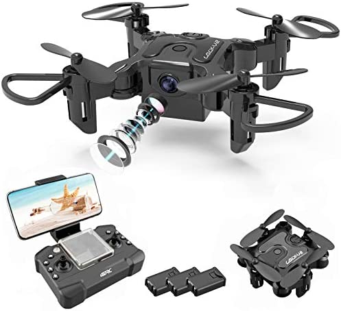 4DRC Mini Drone with 720p Camera for Kids and Adults FPV V2 Drone Beginners RC Foldable Live product image