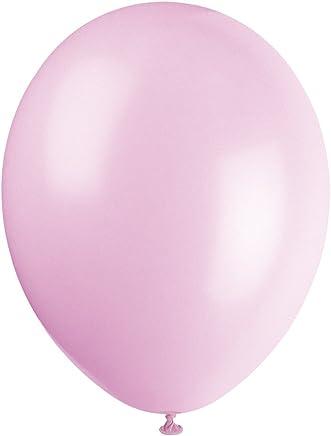 Unique Party - 56848 - Paquet de 50 Ballons - Latex - 30 cm - Rose Pâle