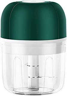 Wireless Mini Electric Food Chopper Vegetable Fruit Garlic Blenders Mini Stainless Electric Kitchen Chopper Meat Grinder,f...