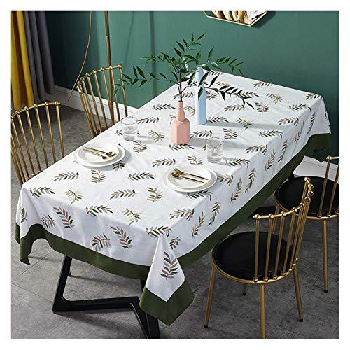 Tovaglia Tovaglia rettangolare, tovaglie da sala da pranzo in albergo tavolo da pranzo tavolo da pranzo durevole e facile da pulire Copritavolo (Size : 130 * 200cm)