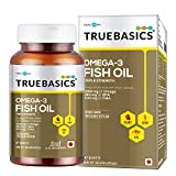 TrueBasics Omega-3 Fish Oil Triple Strength with 1250mg of Omega