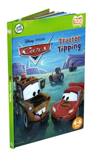 LeapFrog Tag Book: Disney-Pixar Cars Tractor Tipping (Works with LeapReader)