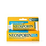 Neosporin + Maximum-Strength Pain Relief Dual Action Antibiotic Ointment with Bacitracin Zinc