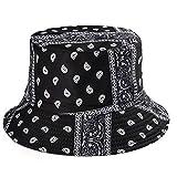 Sombrero de Verano, Sombrero deCubo de Pato Reversible para Hombres,...