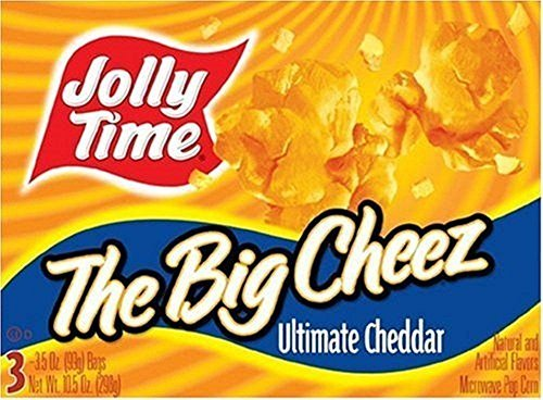 Review Of Jolly Time: The Big Cheese Microwave Popcorn (Pack of 2)