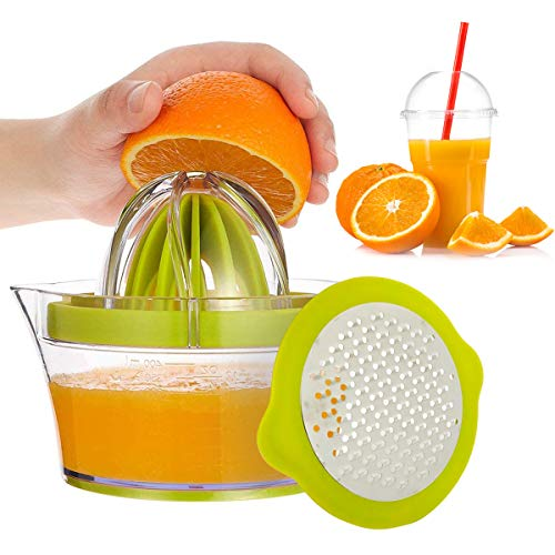 BoloShine Exprimidor de limón Manual, Exprimidor Multifuncional de Naranja y limón, Profesional...