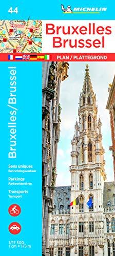 Michelin Bruxelles/Brüssel: Stadtplan 1:17.500 (MICHELIN Stadtpläne)