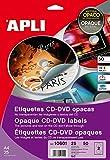 Etiquetas Adhesivas Opacas 25H...