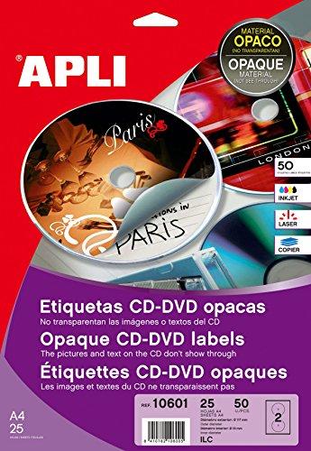 Etiquetas Adhesivas Opacas 25H