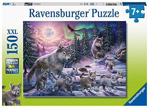 Ravensburger 129089 Puzzel Noordelijke Wolven - Legpuzzel - 150 Stukjes