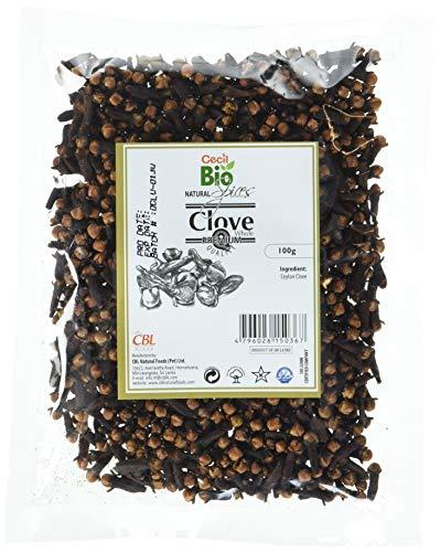 Cecil Bio Lot de 5sachets de clous de girofle naturels entiers, 100g