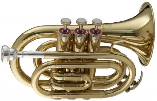 Stagg WS - TR245 Bb Pocket Trompete mit Koffer