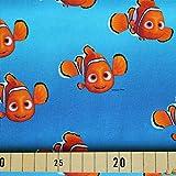 Jersey Stoffe Findet Nemo 0,50m x VB