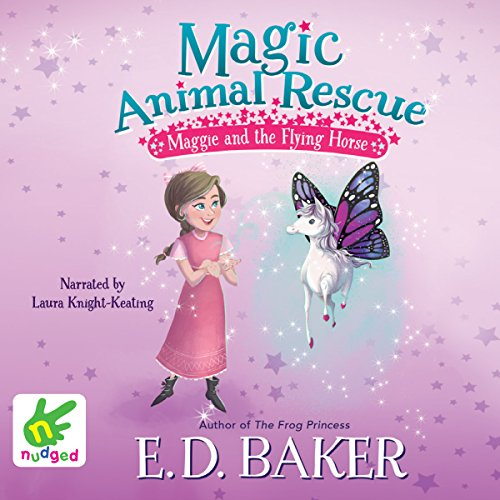 Maggie and the Flying Horse audiobook cover art