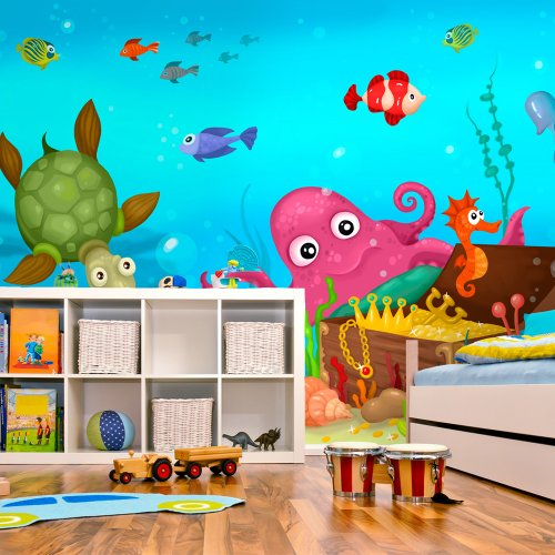 murando Papier peint intissé 350x270 cm Décoration Murale XXL Poster Tableaux Muraux Tapisserie Photo Trompe l'oeil enfants 100402-3