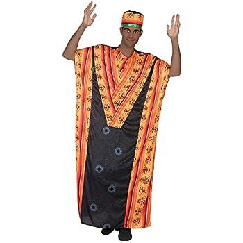 Atosa-38898 Disfraz Africano, Color Negro, XL (38898): Amazon.es ...