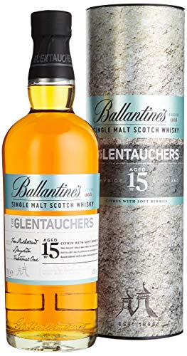 Ballantine's THE GLENTAUCHERS 15 Years Old Single Malt Scotch Whisky mit Geschenkverpackung (1 x 0.7 l)