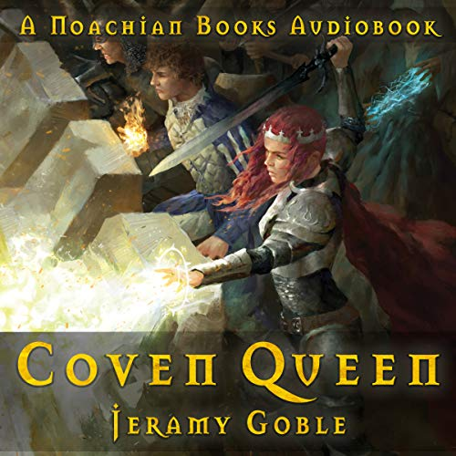 Coven Queen audiobook cover art