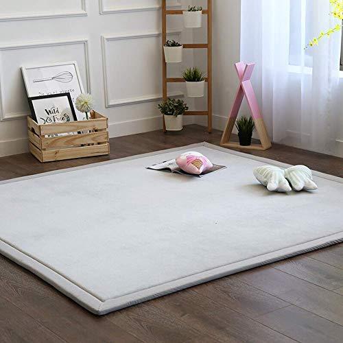 Aishankra antislip mat zacht dik tapijt kinderen kruipen tapijten Home Tatami spons deken slaapkamer woonkamer ingang voetmat kinderen baby spelen kan