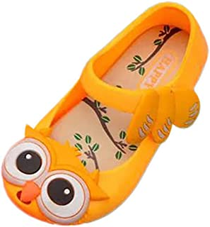 Sunbona (TM) Toddler Baby Boys Girls Beach Sandals Infant Kids Summer Soft Sole Cartoon Cute Pattern Flat Sneaker Jelly Anti-Slip Shoes