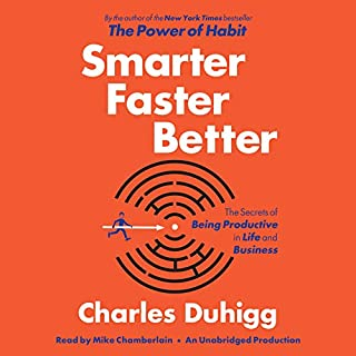 Smarter Faster Better audiobook cover art