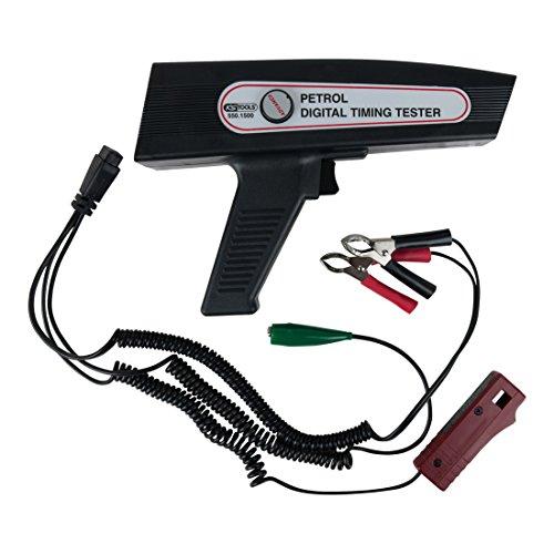 KS Tools 550.1500 Digitale Zündzeitpunktpistole (Stroboskop) mit LED-Anzeige