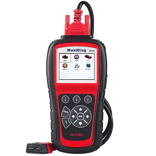 Autel MaxiDiag MD805(Autel MD802) All System + DS Model: Engine, Transmission, ABS, Airbag +EPB+Oil Service Reset & Electronic modules and Support Data Stream Function.