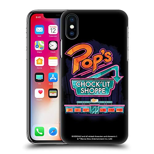 Head Case Designs Ufficiale Riverdale Pop's Arte Cover Dura per Parte Posteriore Compatibile con Apple iPhone X/iPhone XS