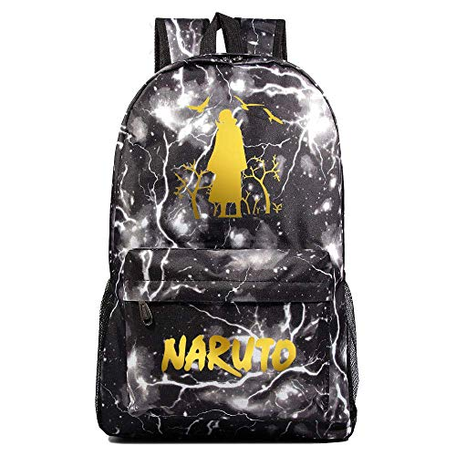 Naruto Uchiha Itachi Starry Sky Color Cosplay Backpack Casual Daypacks Children's School Bags Rucksack-G,Colour Name:C qingqiao (Color : D)
