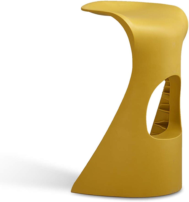 HZB Leisure Bar Chair, Fashionable Bar Stool, Creative Bar, Table and Chair, Plastic Stool, Bar Chair, Counter Chair, golden Chair.