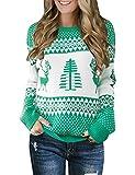LookbookStore Women's Green Long Sleeves Ugly...