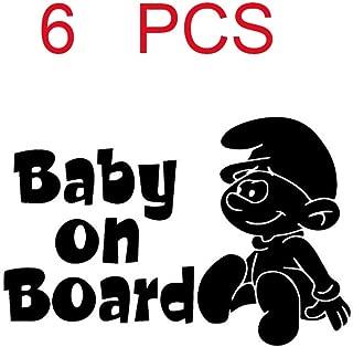 Baby Boy a Bordo//Paraurti Bambino Finestra Auto Adesivo Decalcomania Segno