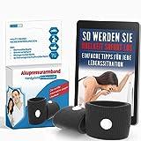 Akupressur Armband gegen Übelkeit - Ideal für Schwangerschaftsübelkeit,...