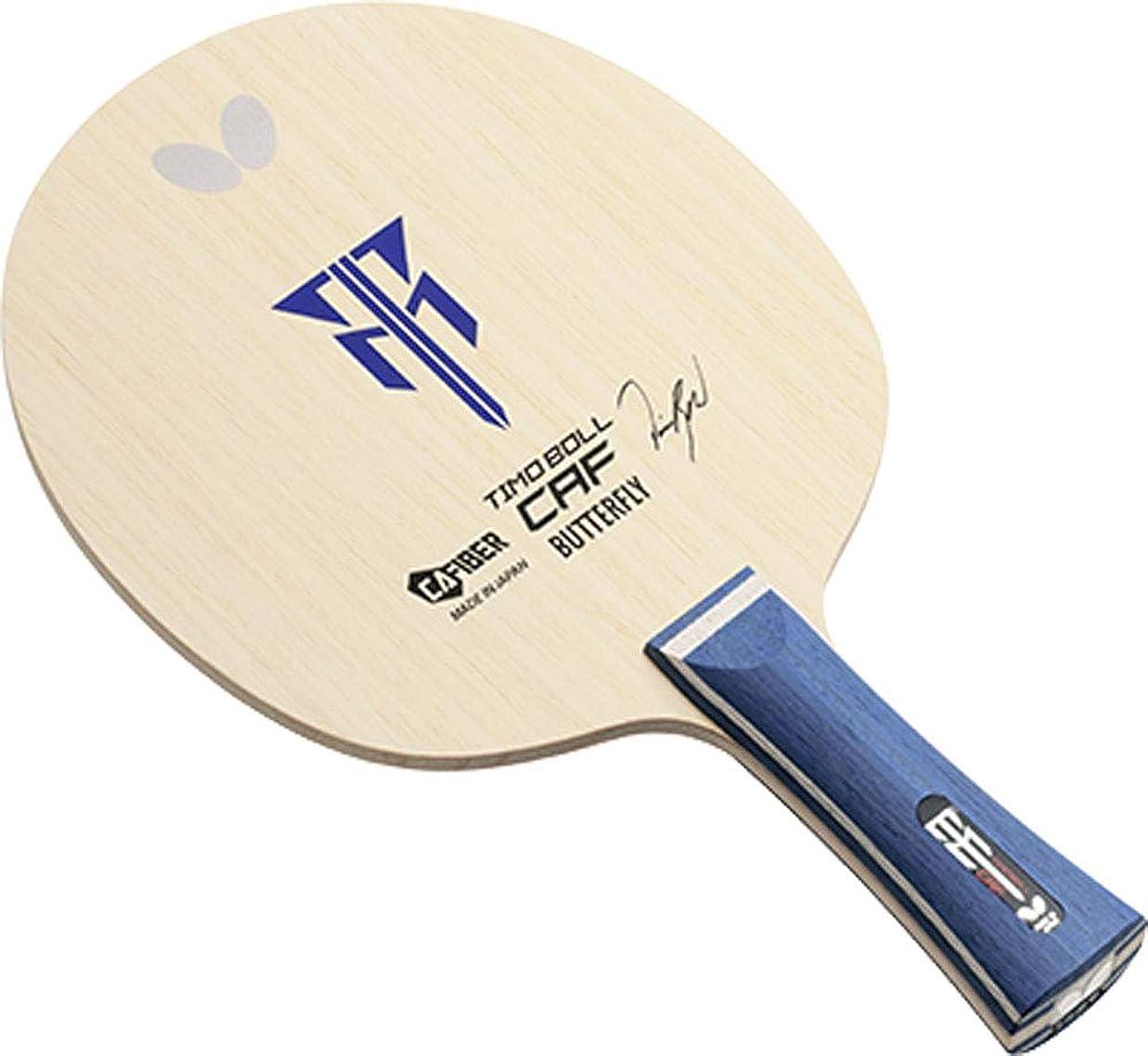 農業の中断六バタフライ(Butterfly) 卓球 ラケット ティモボル CAF シェークハンド 攻撃用 特殊素材入り ラージボール対応可