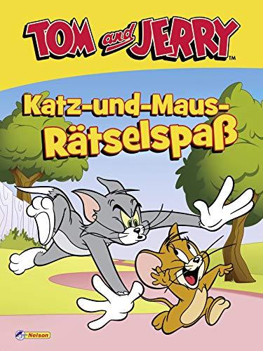 Tom und Jerry: Katz-und-Maus-Rätselspaß: Lustige Labyrinthe, Fehlersuchbilder, Malaufgaben und vieles mehr (ab 3 Jahren)