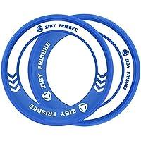 ZIBY Kid's Frisbee Rings Flying Disc (Blue)
