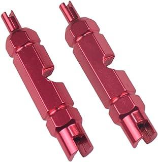 figatia 2 x acessórios de chave inglesa para remoção de núcleo de válvula de estrada – vermelho, 54 mm
