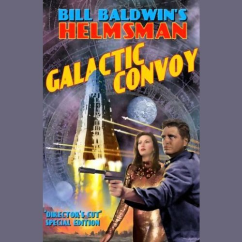 Galactic Convoy audiobook cover art