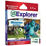 Leapfrog - 89033 - Jeu Educatif Electronique - LeapPad / Leapster Explorer - Jeu – Monstres Academy