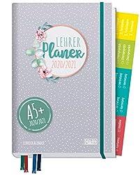 Lehrer-Planer 2020/2021 A5+ [Dotty] Hardcover Lehrerkalender Schuljahresplaner mit Sprüchen, Stickern und vielen nützlichen Features - smart & gut gelaunt das Schuljahr planen!