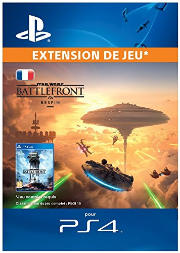 STAR WARS Battlefront Bespin [Extension de jeu] [Code Jeu PSN PS4 - Compte français]