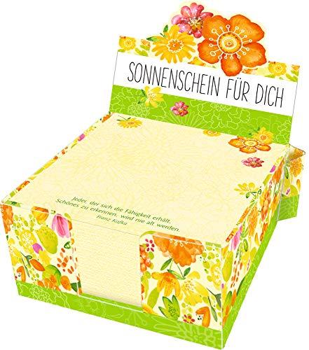 Zettelkästchen - Sonnenschein für dich