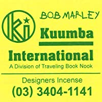 KUUMBA/クンバ『incense』(BOB MARLEY ボブマーリー) (Regular size レギュラーサイズ)