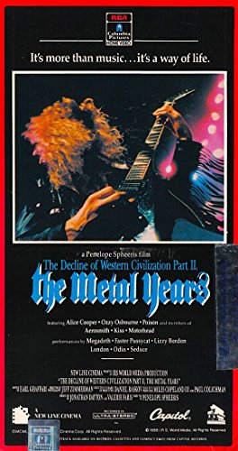 Decline of Western Civilization Part 2 - The Metal Years [VHS]